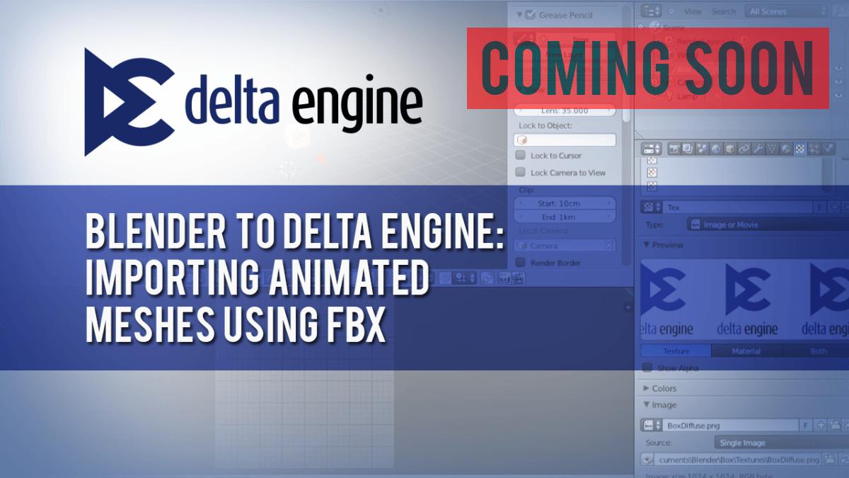 Delta Engine - Importing