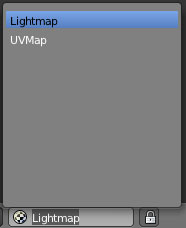 Blender: Rename UV Map